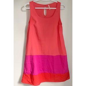 My Story colorblock shift dress